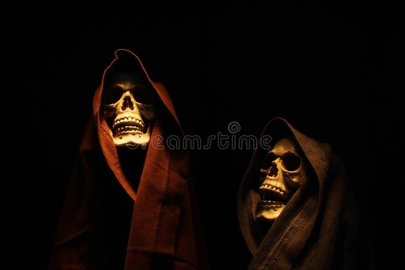 Squelettes fantasmagoriques images stock