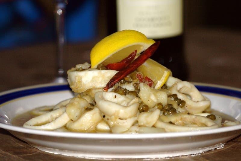 Download Squid Rings (Calamari) stock image. Image of fresh, plate - 12292839