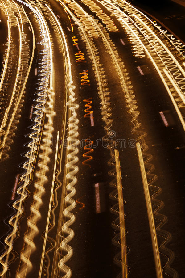 Free Squiggly Traffic River Royalty Free Stock Photography - 29972037