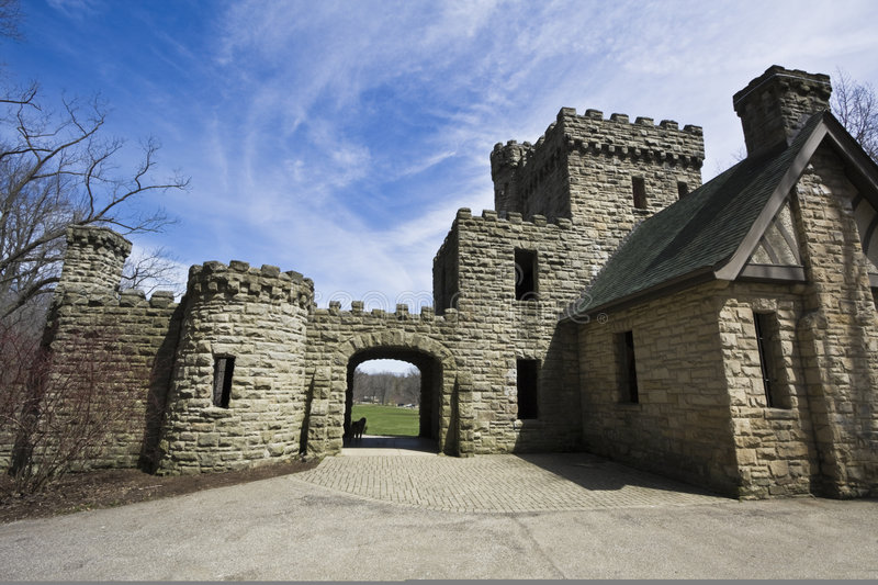 Squire's Castle royalty free stock photos