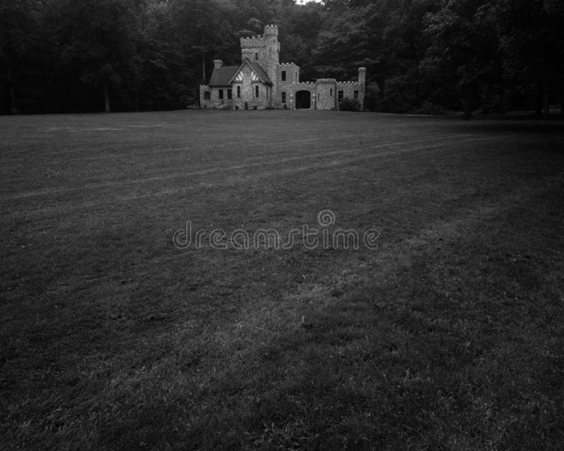 Squires Castle Fields royalty free stock photos