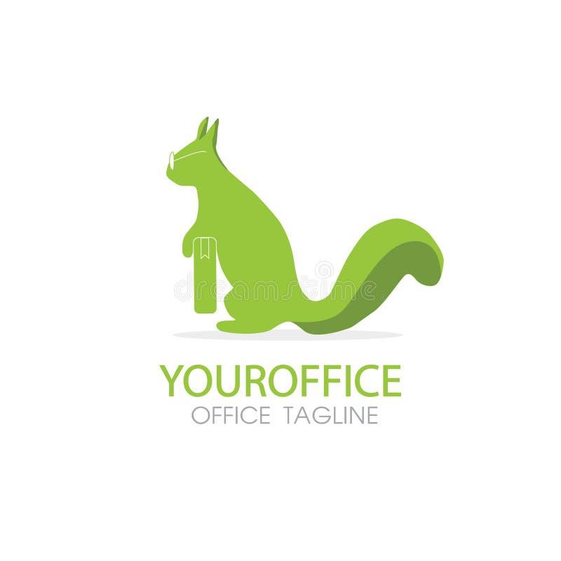 Squirrel logo stock photography