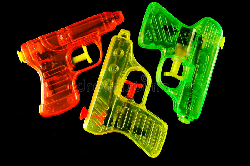 Download Squirt Guns Royalty Free Stock Photos - Image: 2306668