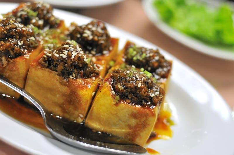 Squisitezza vegetariana della farina di fave fotografia stock