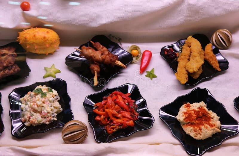 Squisitezze culinarie fotografia stock