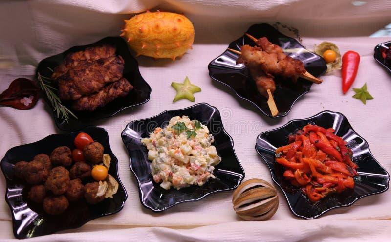 Squisitezze culinarie fotografie stock