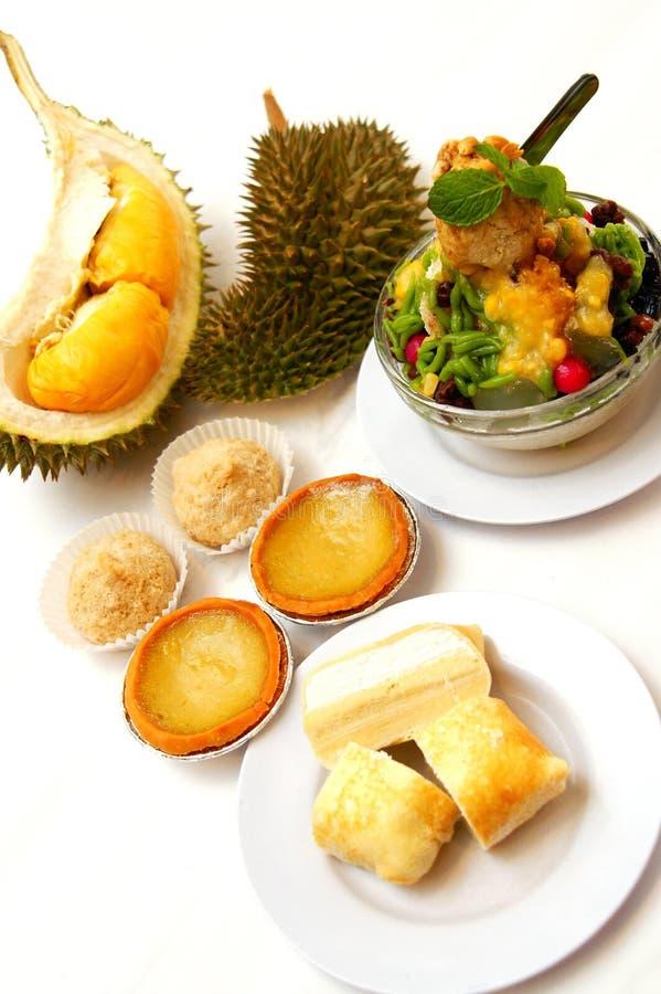 Squisitezze del Durian fotografia stock libera da diritti