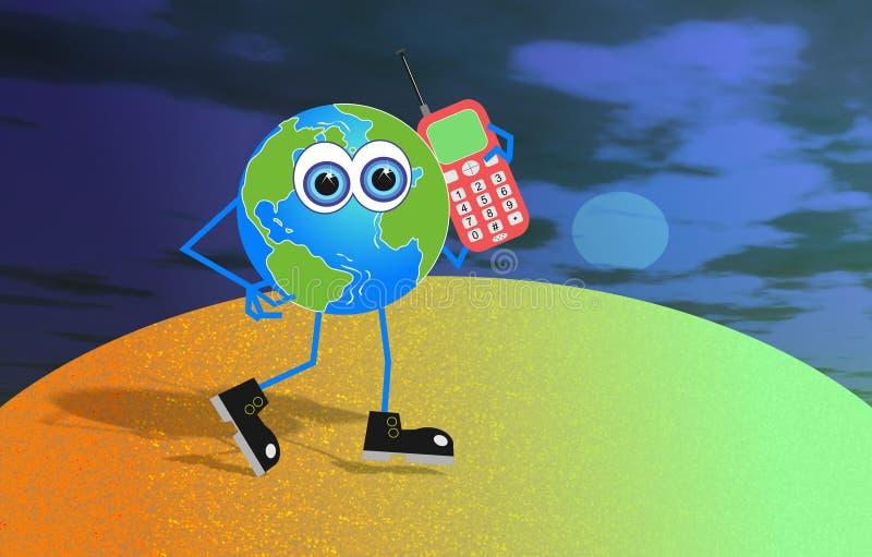 Sr. Global ilustração do vetor