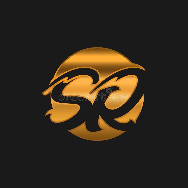 Sr Logotype Company Letter Design Vector Sr Monogram Logo Design Stock Vector Illustration Of Creative Concept 191451041