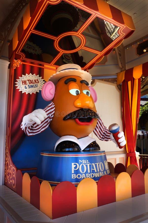 Sr. Potato Head Toy Story Pixar Character fotos de archivo