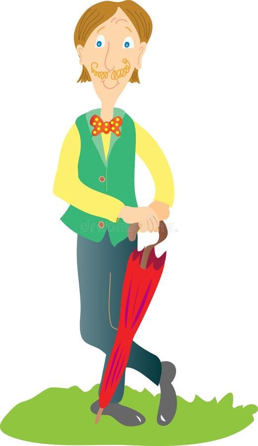 Sr. Tall libre illustration