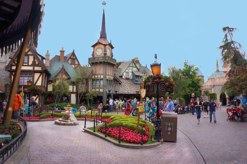 Sr. Toad Gaston Fairy Tale de Disneyland Fantasyland fotografía de archivo libre de regalías