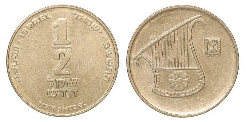 Sraeli syklu moneta zdjęcie royalty free