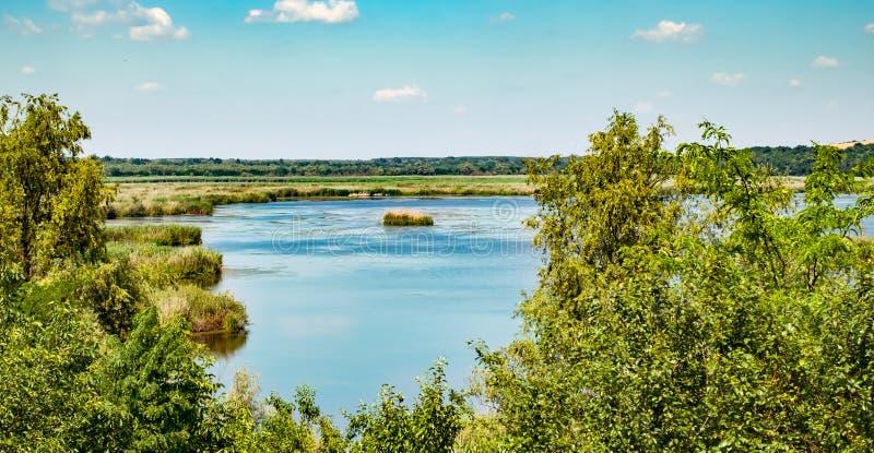 Srebarna Nature Reserve in Bulgaria. A UNESCO World Heritage Site stock photos
