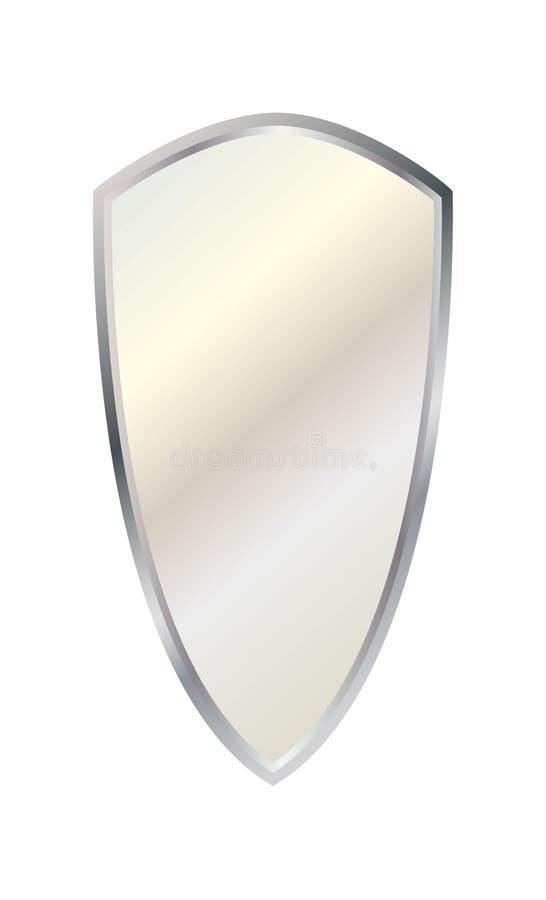 Srebna kolor osłona zdjęcie stock