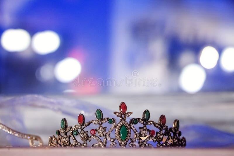 Srebna korona zdjęcie royalty free