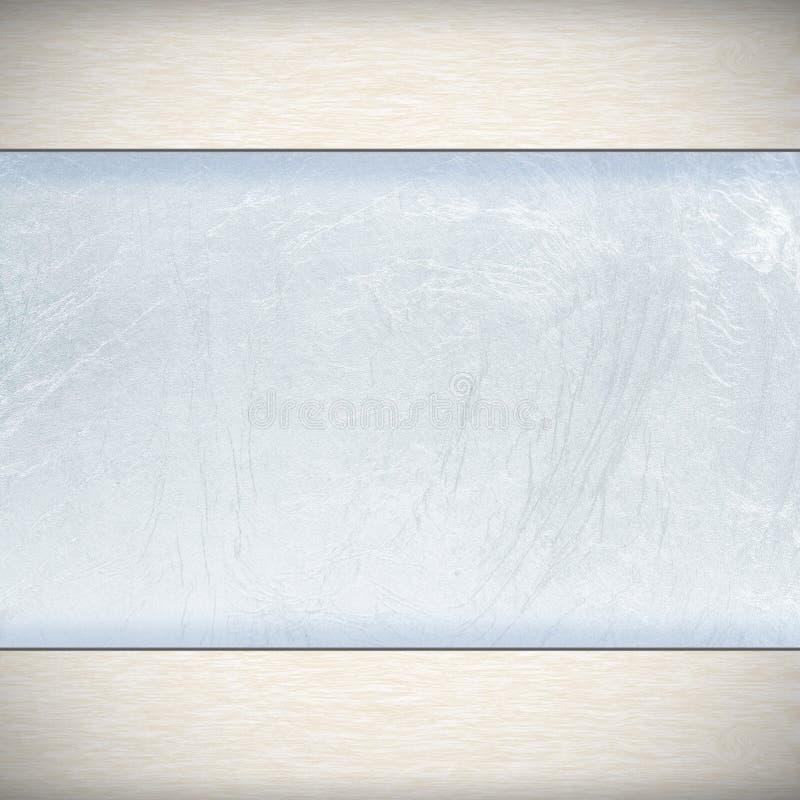 Srebna stalowa rama zdjęcia stock