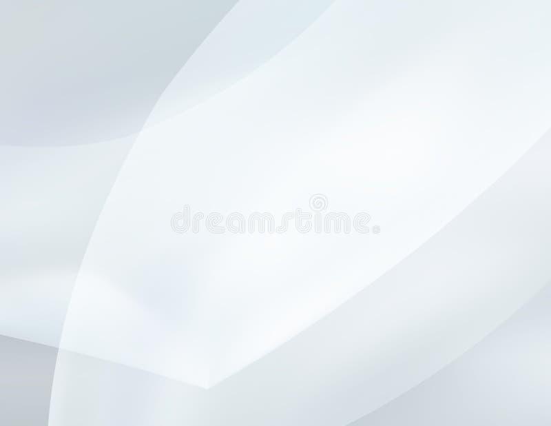Srebna tapeta Abstrakta zamazany szary tło ilustracja wektor