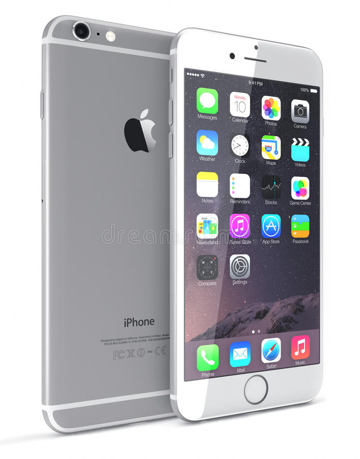 Srebny iPhone 6