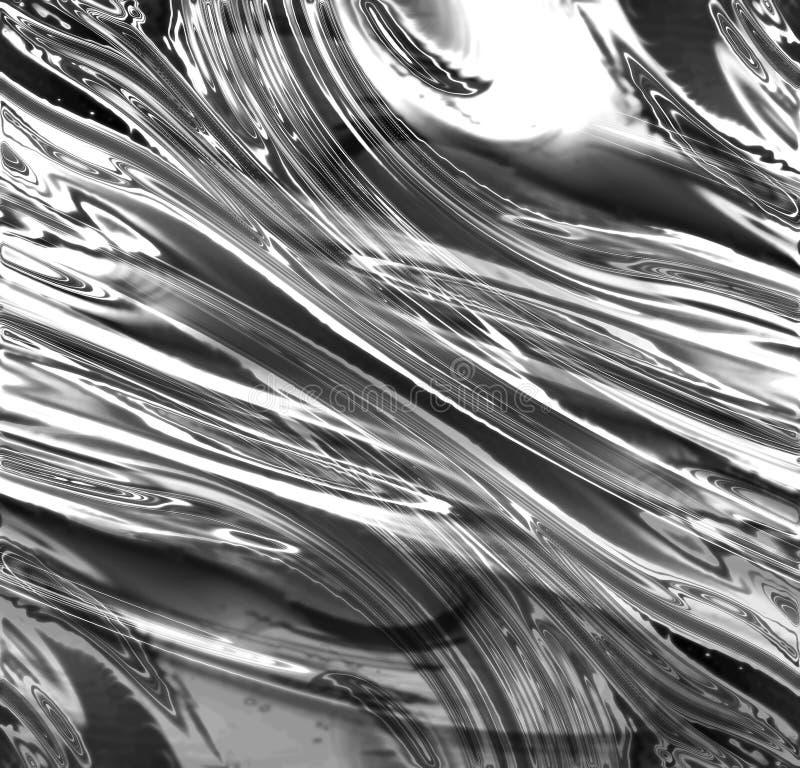 Srebny kruszcowy tło ilustracja wektor