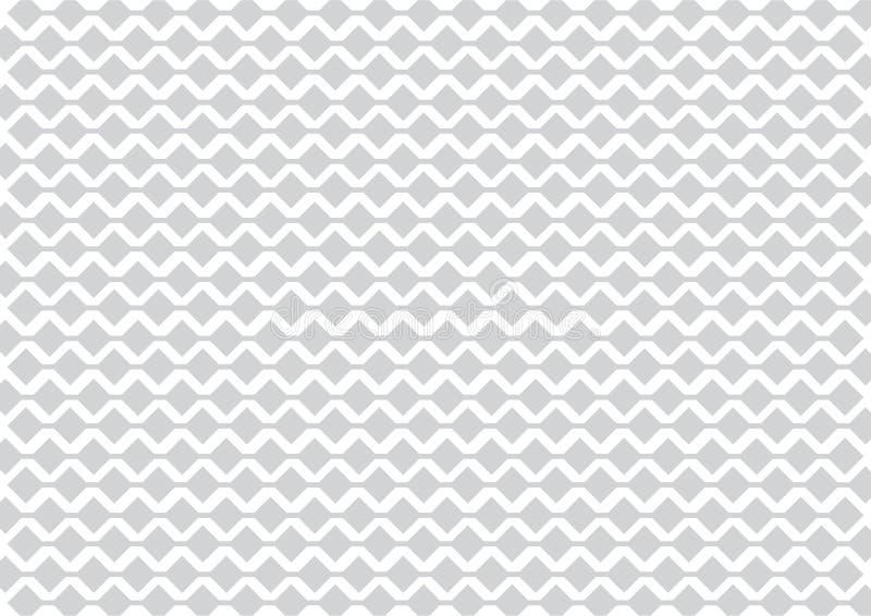 Srebny szarości i Białego Futurystyczny technologii tło ilustracja wektor