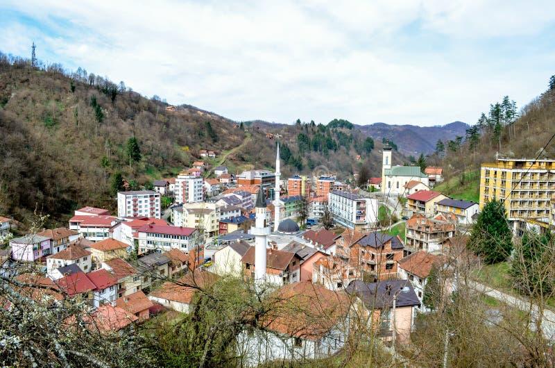 Srebrenica - Bosnien und Herzegowina lizenzfreie stockfotografie