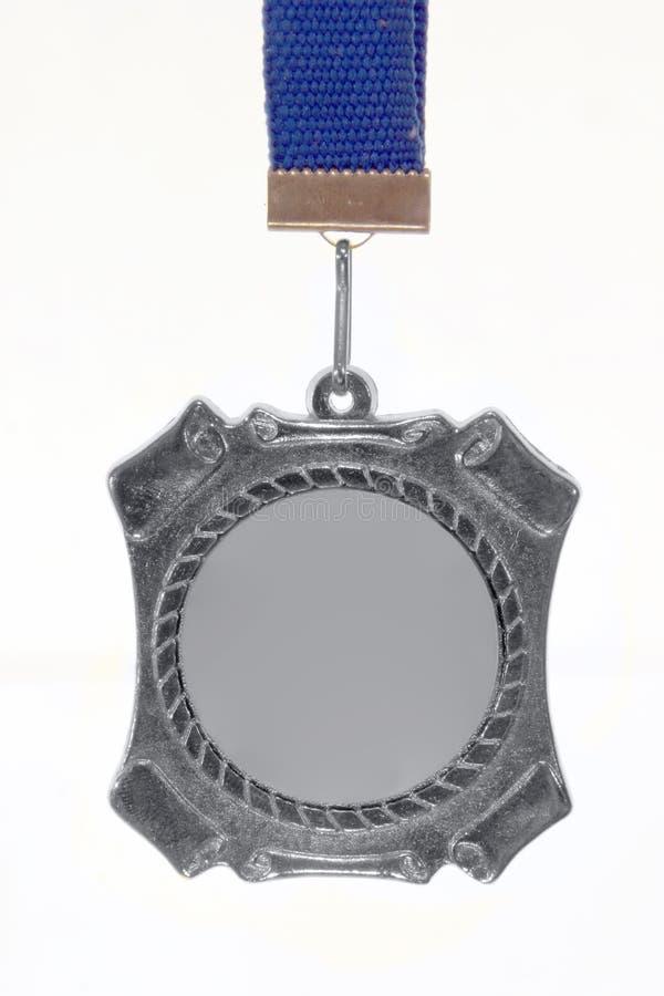 srebrny medal zdjęcie stock