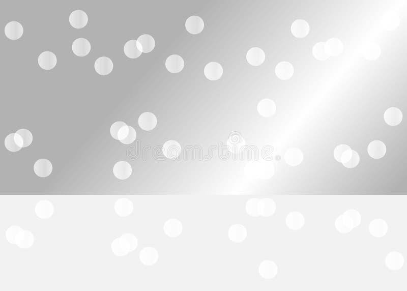 Srebro odzwierciedlający tło dla ciebie produkt ilustracja wektor