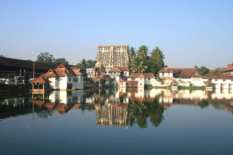 Sree padmanabha swamy temple royalty free stock image