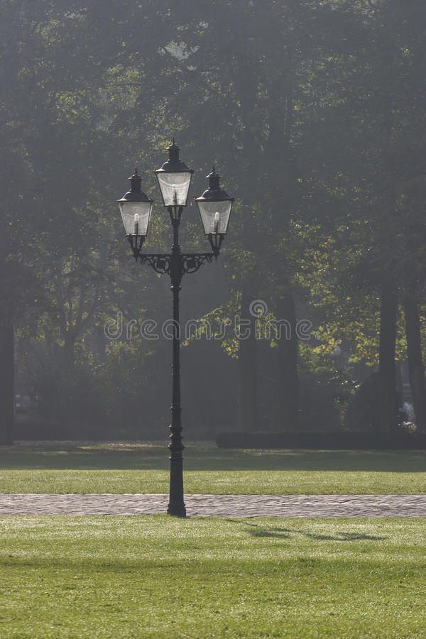 Download Sreetlamp in a park stock photo. Image of ancient, victorian - 33506902