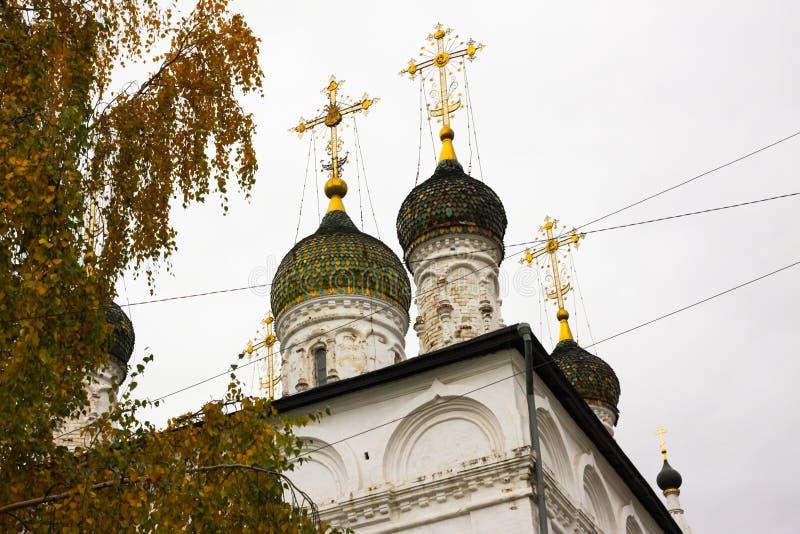 Sretensky monastery in autumn. Gorokhovets. Vladimir oblast, Russia stock photos