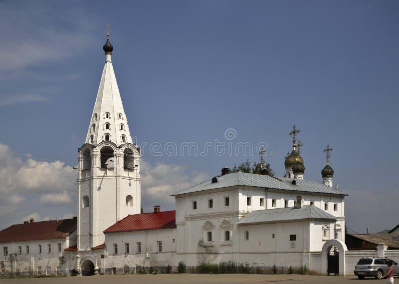 Sretensky Monastery in Gorokhovets. Vladimir Oblast. Russia stock photo