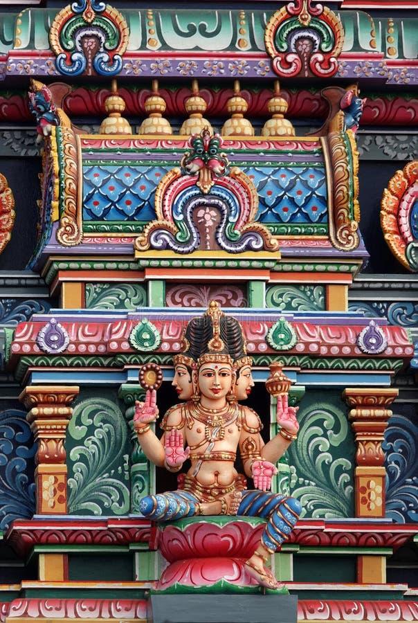 Sri西瓦Subramaniya偶象寺庙- Nadi,斐济 库存照片