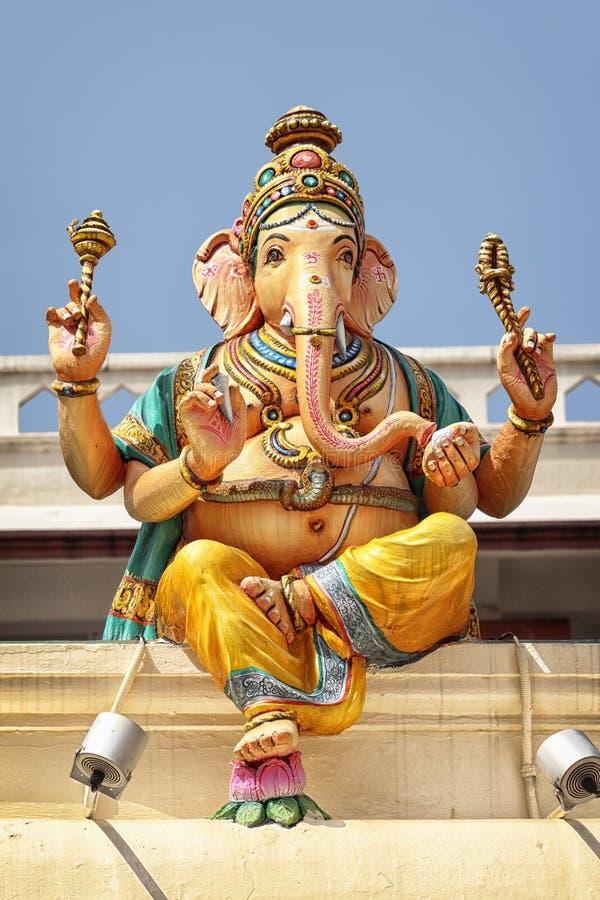 Sri Świątynia Mariamman - Singapur obraz stock