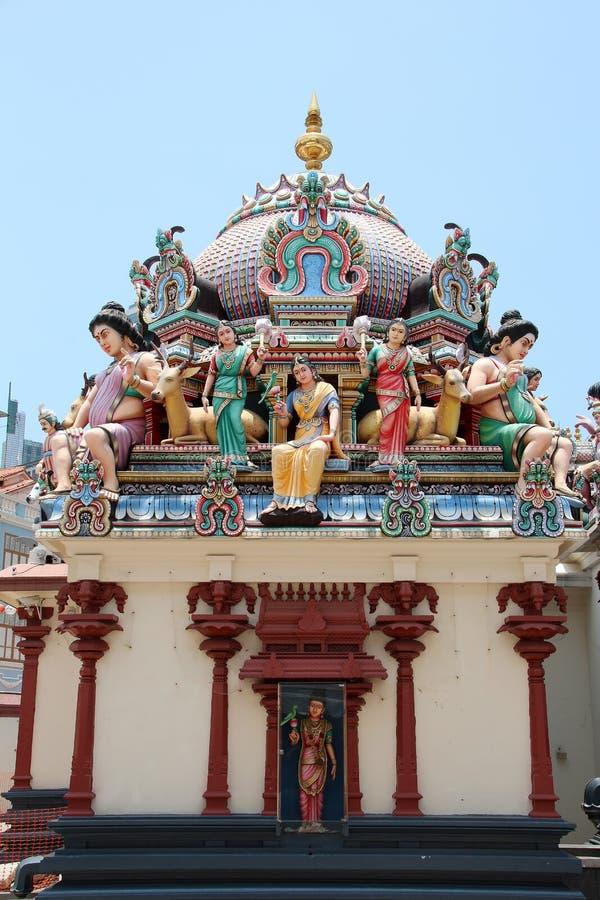 Sri Świątynia Mariamman - Singapur fotografia royalty free