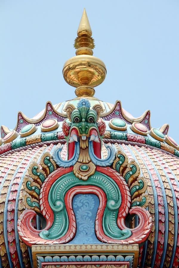 Sri Świątynia Mariamman - Singapur zdjęcia stock