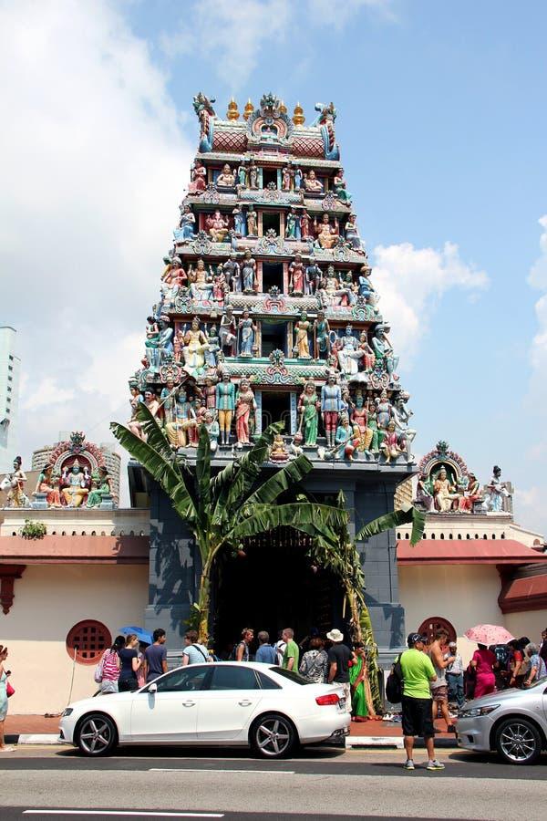 Sri Świątynia Mariamman - Singapur fotografia stock
