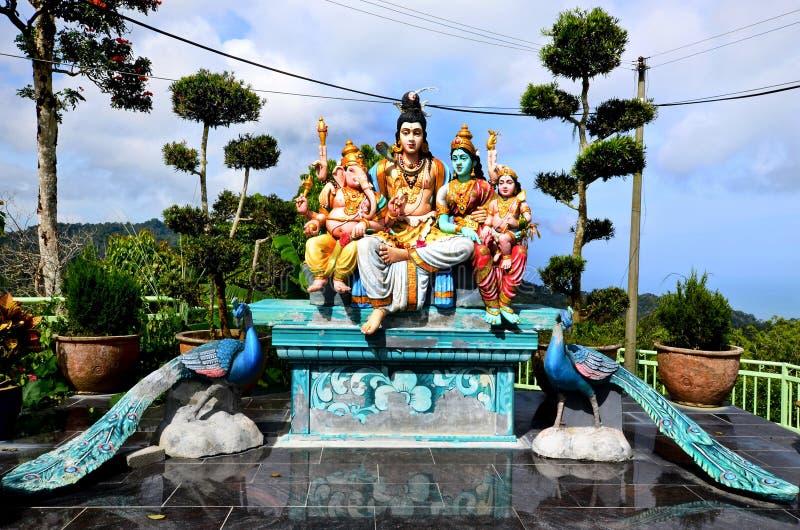 Sri Aruloli Thirumurugan,槟榔岛小山印度寺庙,槟榔岛马来西亚 免版税库存图片