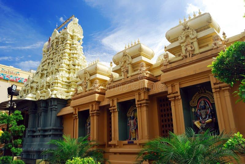 Sri Balathandayuthapani寺庙 图库摄影
