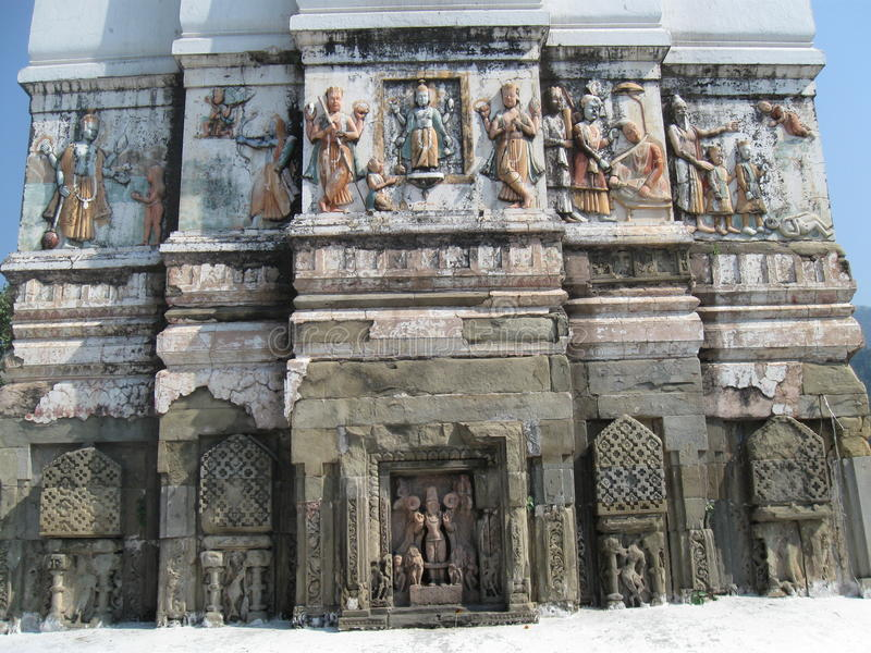 Download Sri Bharat Mandir Temple Rishikesh India Stock Photo - Image of india, paintings: 85289768