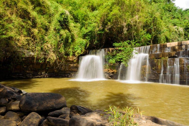 Sri Dit vattenfall arkivfoton