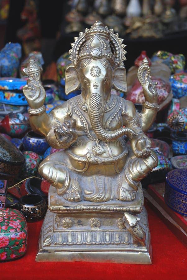 Sri Ganesh stockbilder