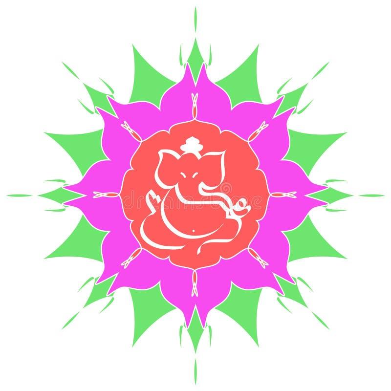 Sri Ganesha - Die Hinduistische Gottheit Lizenzfreie Stockbilder