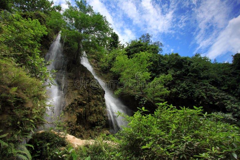 Sri Gethuk Waterfall royalty free stock photos