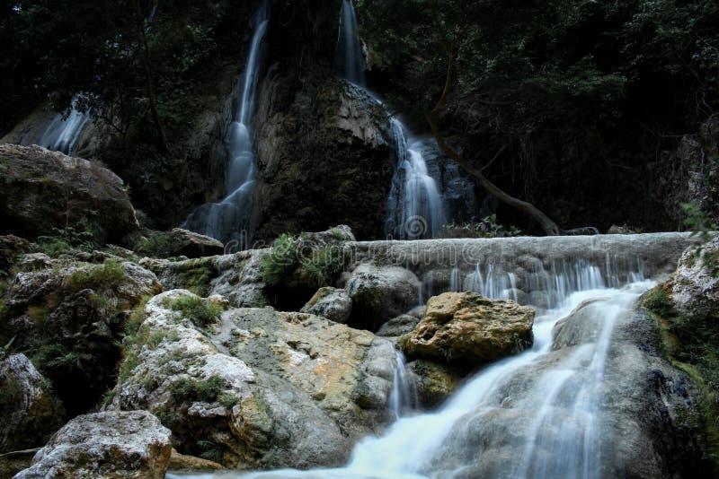 Sri gethuk Yogyakarta Waterfall royalty free stock photography