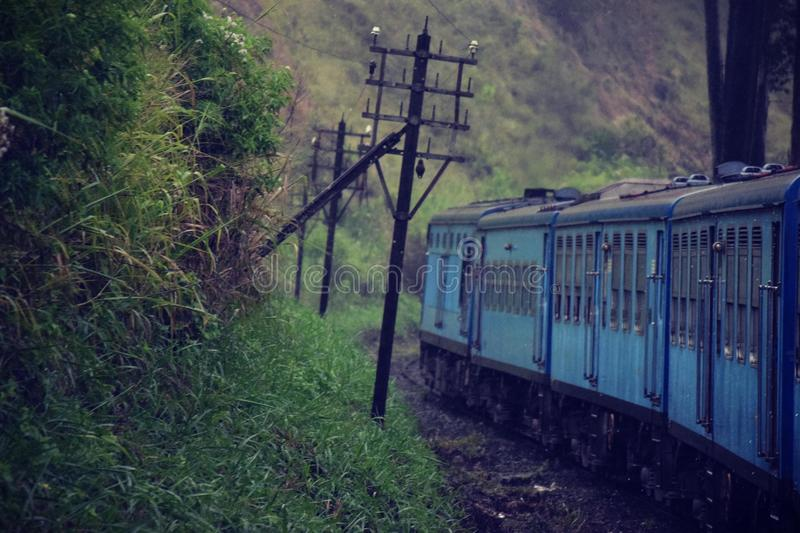 Sri Lanakan Train royalty free stock photos