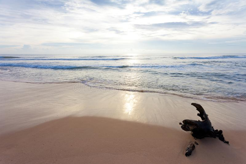 Sri Lanka - Ahungalla - onde a natureza é ainda bonita e se acalmar imagens de stock