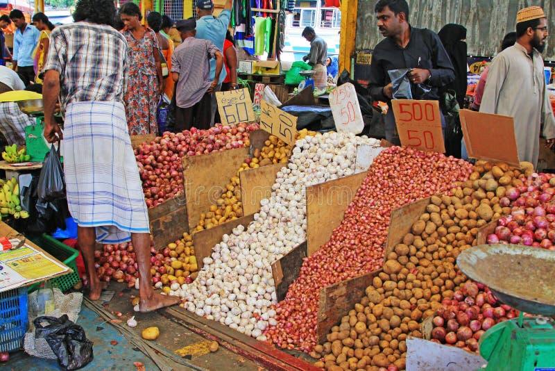 Sri Lanka Bazaar royalty free stock photography
