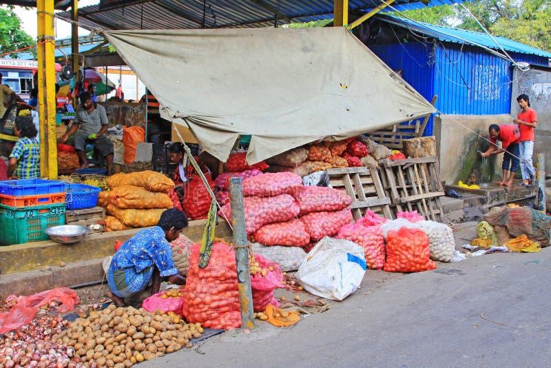 Sri Lanka Bazaar royalty free stock image