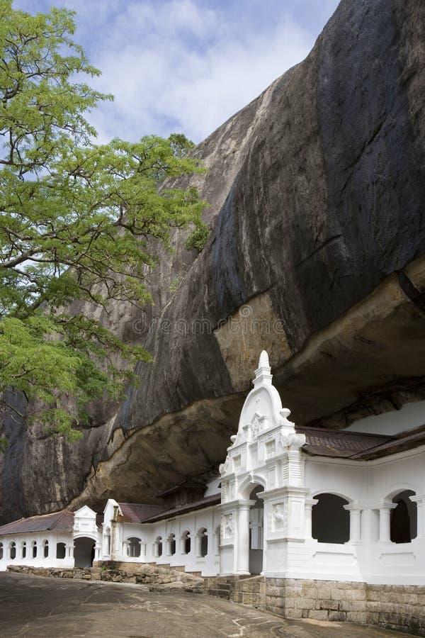 Sri Lanka - Dambulla Cave Temples Stock Image